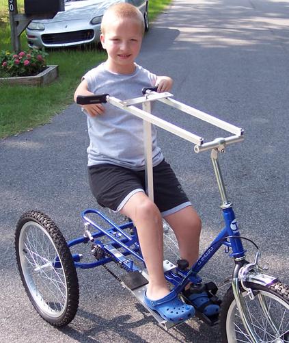 Child & Bike